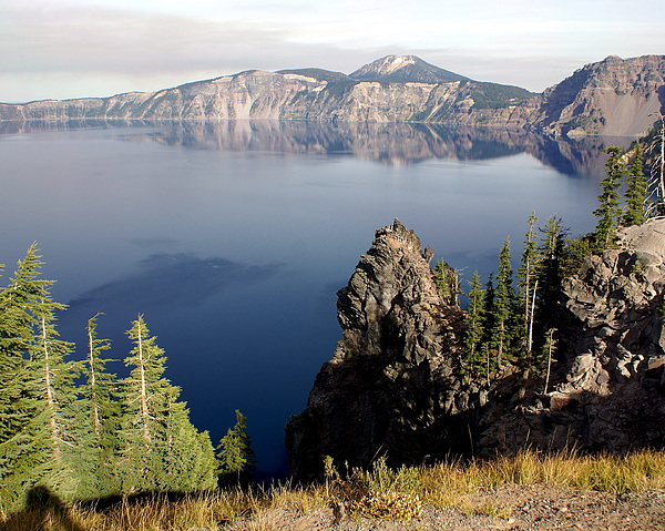Crater Lake 7 Print by Marty Koch