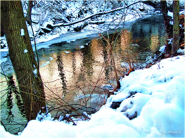 Joan  Minchak - Creek in Bath Ohio