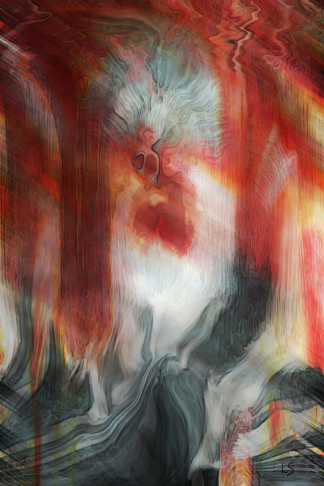Creep Print by Linda Sannuti