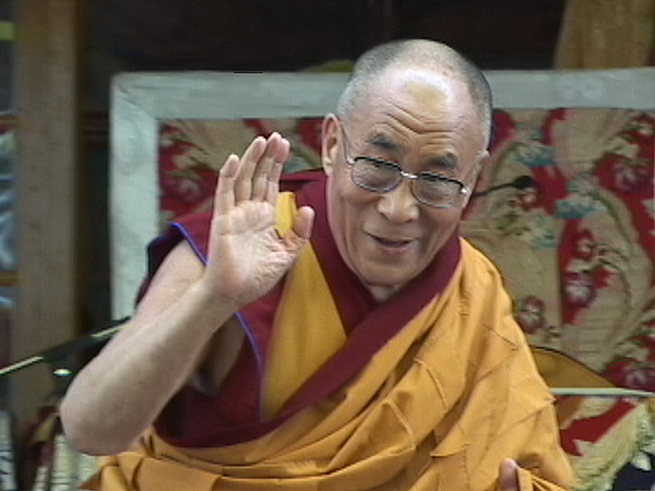 McLeod Ganj India  city photos : Dalai Lama, Greeting, Mcleod Ganj, India by Joe Mickey