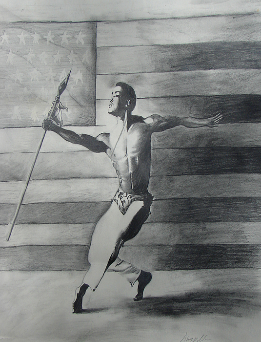 Dance For Freedom Print by Stacy V McClain