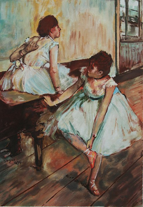 Dancers Print by Kevin Hopkins