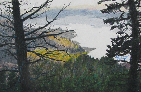 Dawn Over Eagle Nest Lake Print by Kenny King