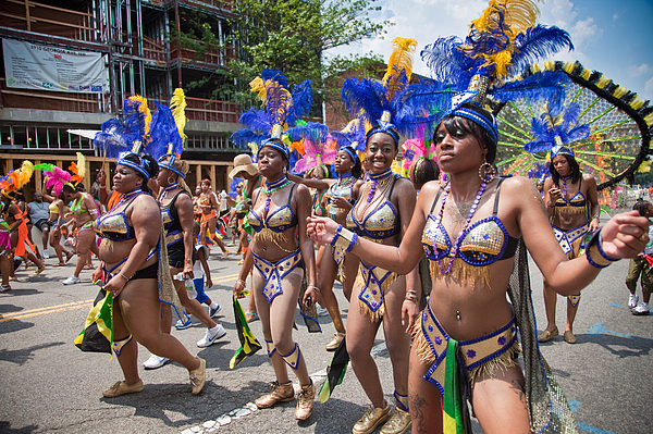 Dc Caribbean Carnival No 10 Print by Irene Abdou