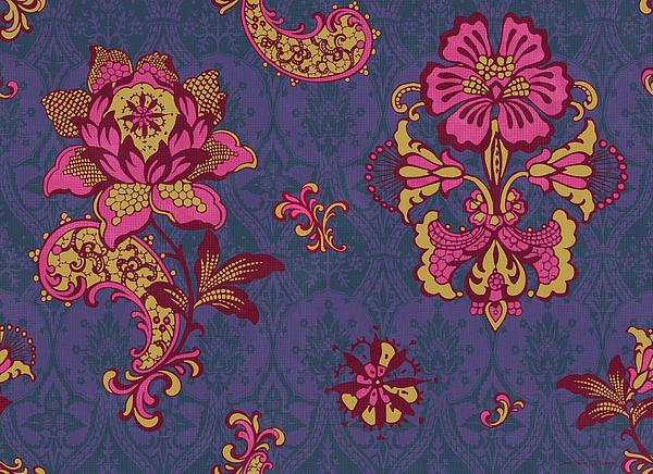 Deco Flower Purple Print by JQ Licensing