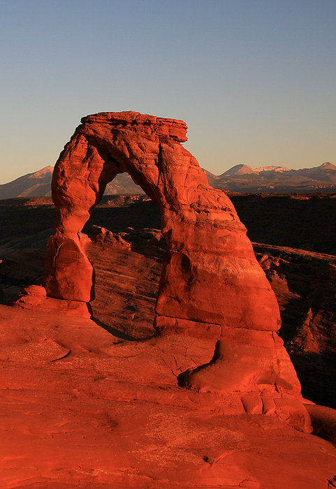 Delicate Arch Print by Timothy Johnson