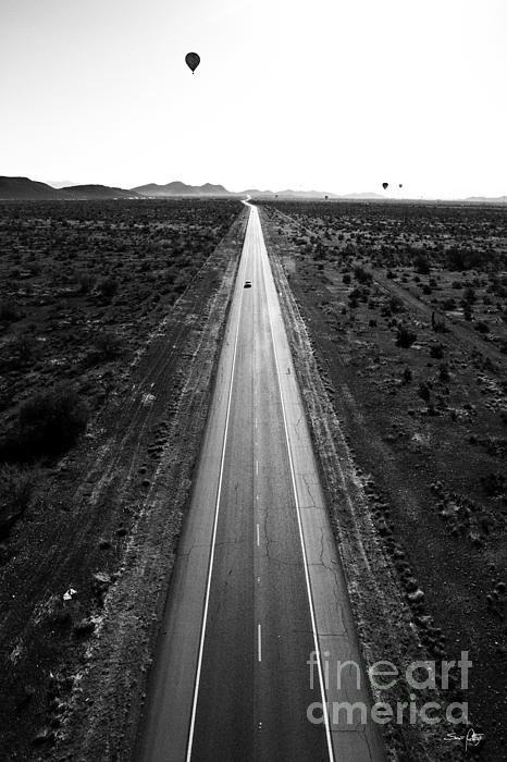 Desert Road Print by Scott Pellegrin