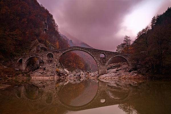 Devil's Bridge Print by Evgeni Dinev