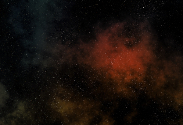 Distant Nebula Print by Michal Boubin