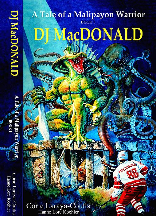 Dj Macdonald Book Cover Print by Hanne Lore Koehler