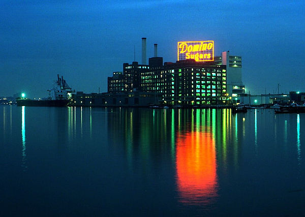 Domino Sugars Baltimore Maryland 1984 Print by Wayne Higgs
