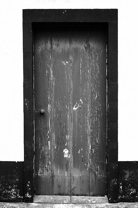 Door Print by Gaspar Avila