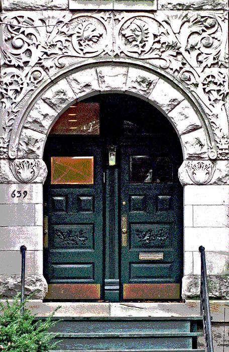 Door Series Print by Ginger Geftakys