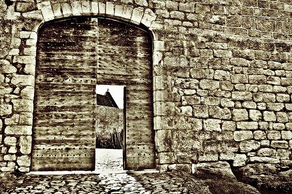 Door To Salvation Print by Paul Topp