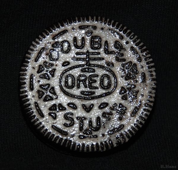 Double Stuff Oreo Print by Rob Hans