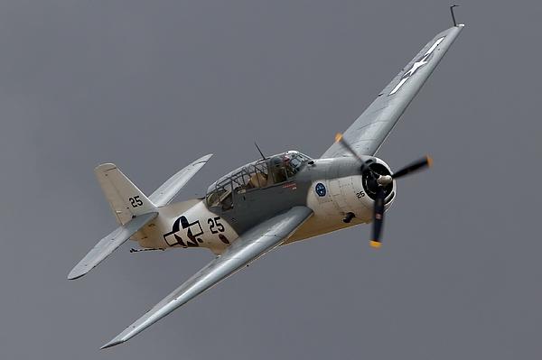 Douglas Tbf Avenger 2011 Chino Planes Of Fame Print by Gus McCrea