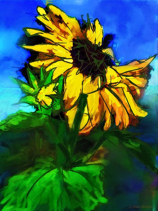 Jo-Anne Gazo-McKim - Dramatic Sunflower