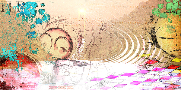 Drift Ashore Print by Mark M  Mellon