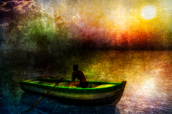 Drifting Into The Light Print by Bob Orsillo