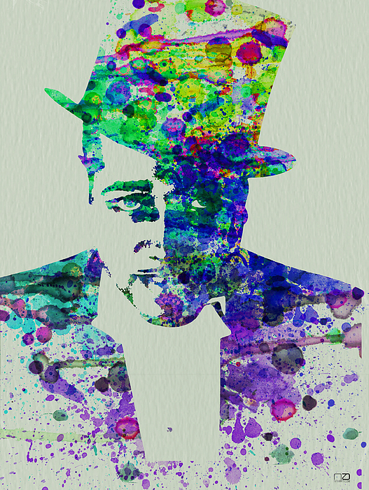 Duke Ellington Print by Naxart Studio