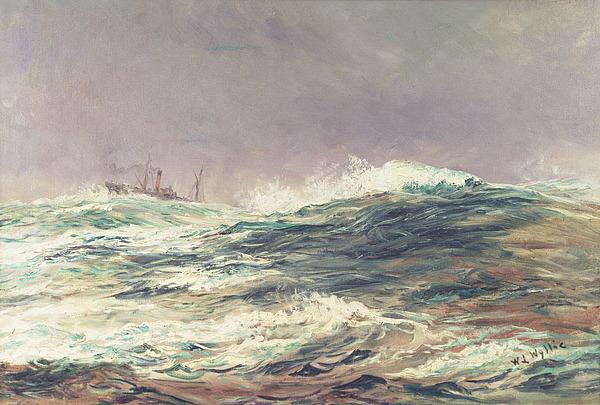 Ebb Tide Print by William Lionel Wyllie