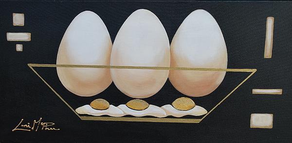 Eggs Anyone Print by Lori McPhee