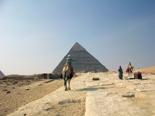 Egypt - Pyramid3 Print by Munir Alawi