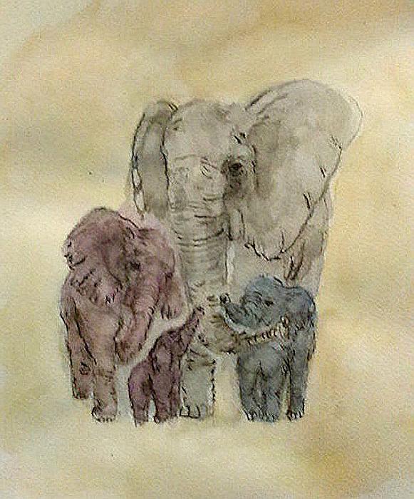 Jennie Hallbrown - Elephants