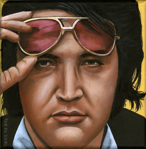 Elvis 24 1971 Print by Rob De Vries