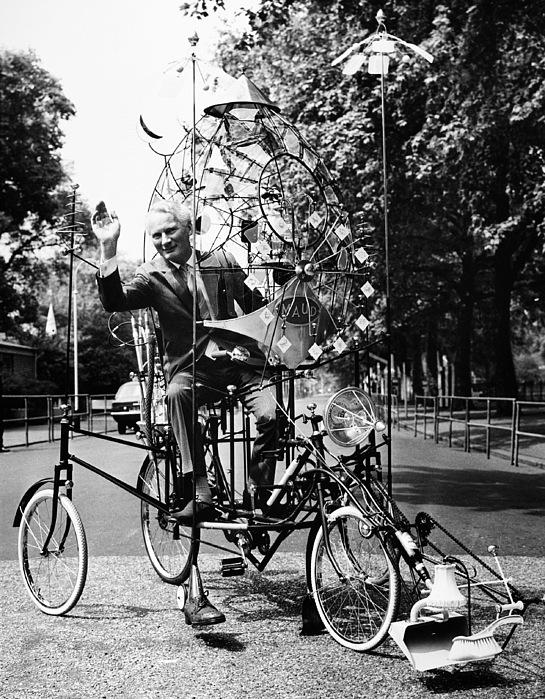 Emett: Lunacycle, 1970 Print by Granger