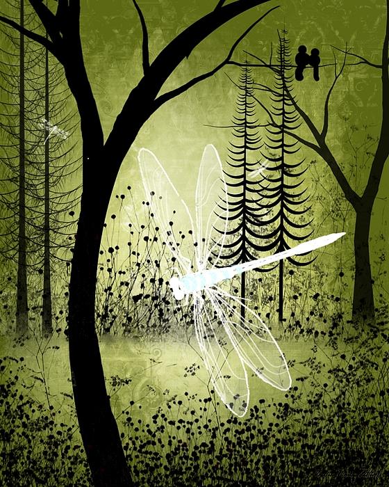 Enchanted Print by Charlene Zatloukal