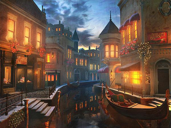 Enchanted Waters Print by Joel Payne