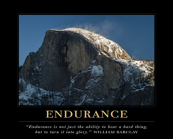 endurance motivational quote by david simchock