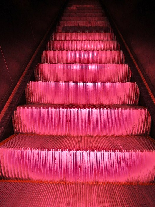 Escalier Print by Reb Frost