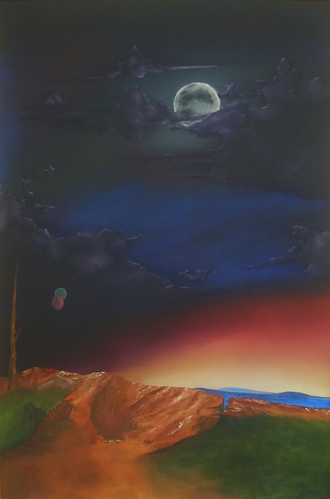 Eternity Print by Richard    J Thorpe