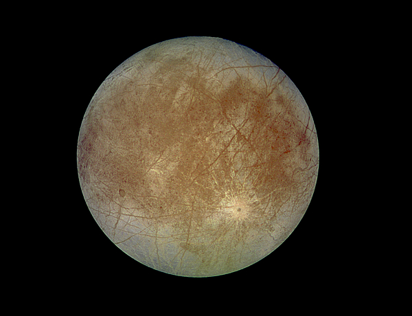 Europa, Moon Of Jupiter by NASA/JPL-Caltech