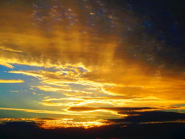 Debbie Chamberlin - Evening Clouds 02