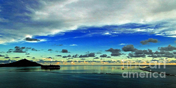Sue Melvin - Evening in Paradise Panoramic