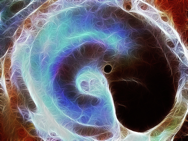 Event Horizon Print by Wingsdomain Art and Photography