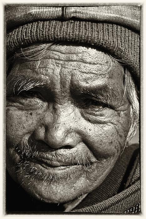 Eyes Of Soul 2 Print by Skip Nall