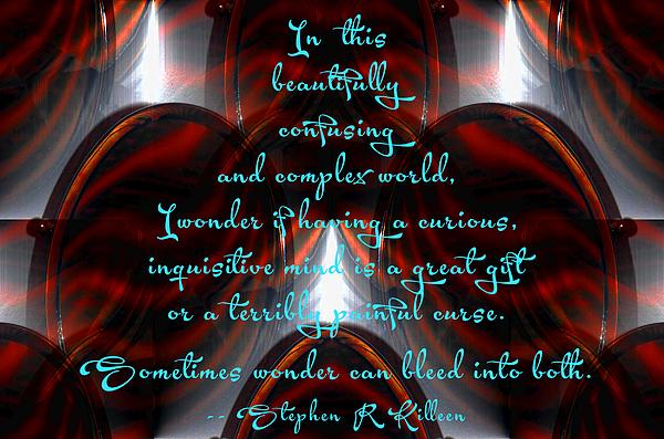Stephen  Killeen - Facing the Immensity of Wonder