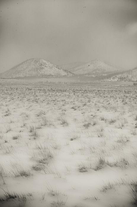 Faded Storm Print by Scott Sawyer