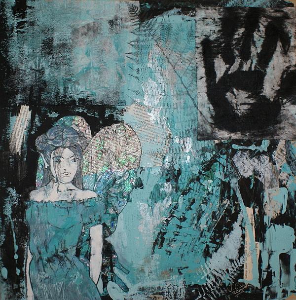 Fairy 1 Print by Joanne Claxton
