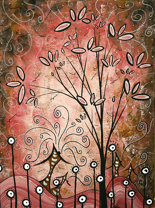 Far Far Away By Madart Print by Megan Duncanson
