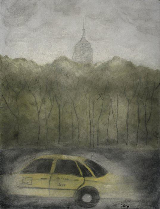 Fast City Print by Janel Bragg