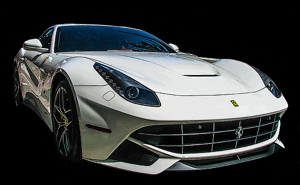 Samuel Sheats - Ferrari F12 Berlinetta in White