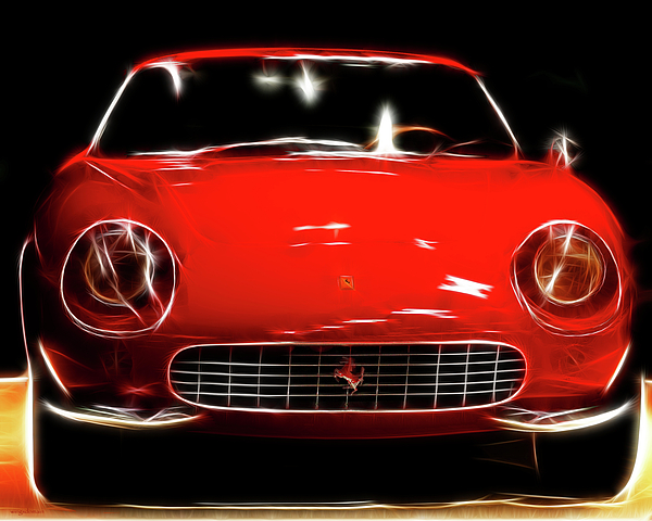 Ferrari Print by Wingsdomain Art and Photography