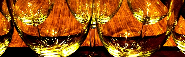 Fine Wine And Dine 3 Print by Will Borden