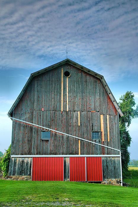 Finger Lakes Barn Iv Print by Steven Ainsworth
