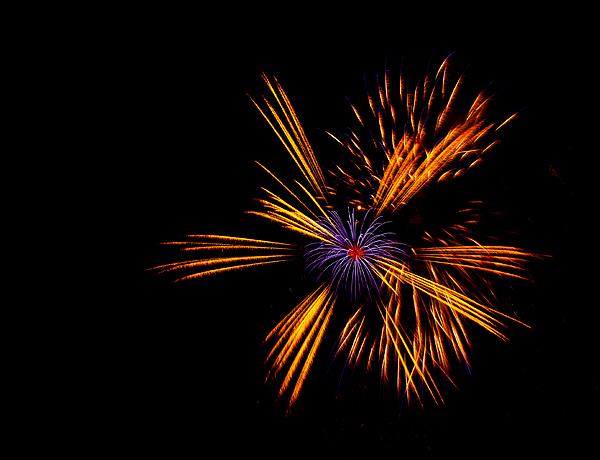 Firework Fun Print by Dawn OConnor